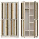 Lifetime-linnenkast-2-deurs-in-Mix-kleuren
