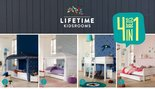 lifetime 4 in 1 bed